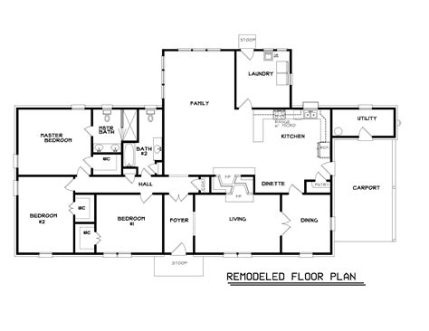house plans amusing ranch house floor plans for home