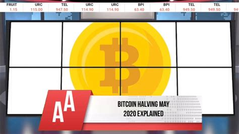 This regular process will change how many bitcoin miners. Bitcoin halving may 2020 - fast explained - YouTube