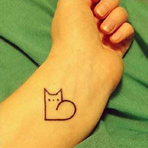 100 Minimalistic Cat Tattoos For Cat Lovers | Architecture ...