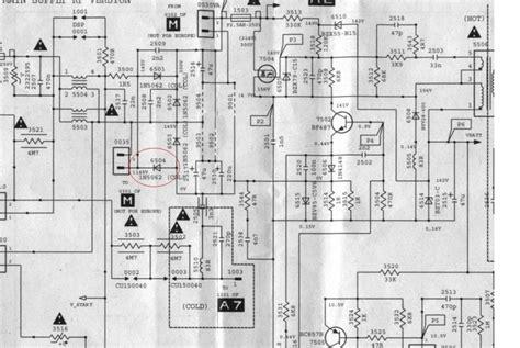 schema electrique four brandt