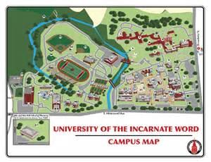 Incarnate Word University Campus Map