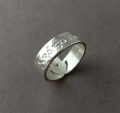 celtic wedding ring engraving ideas in gaelic claddagh