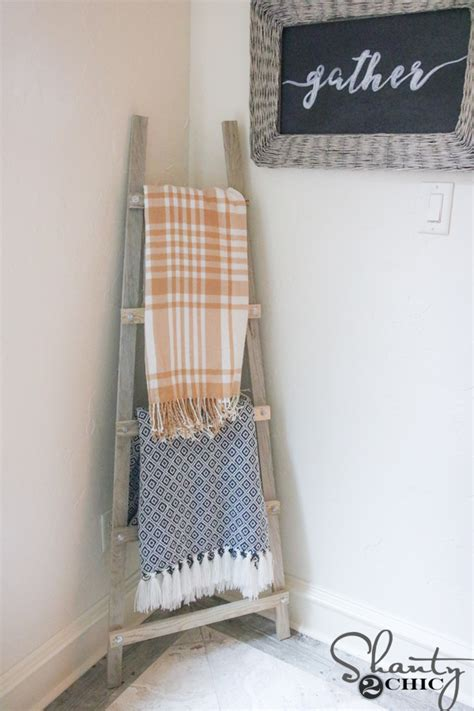 shanty chic blanket ladder diy blanket ladder and how to video and tool giveaway shanty 2 chic