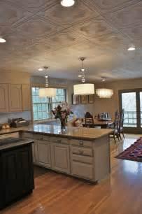 Styrofoam Glue Up Ceiling Tiles by Cabinet Painting Nashville Tn Kitchen Makeover