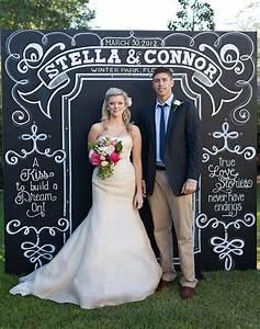 Custom Chalkboard Wedding Ideas