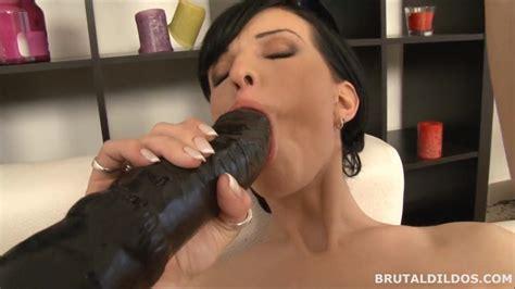 Anal And Vaginal Big Brutal Dildos Big Dildo Pussy And