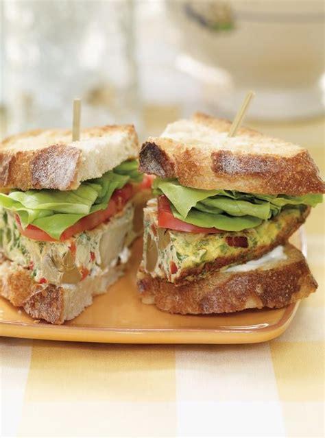 frittata sandwich ricardo recette recettes de