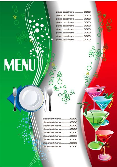 blank menu template free download 25 free restaurant menu templates
