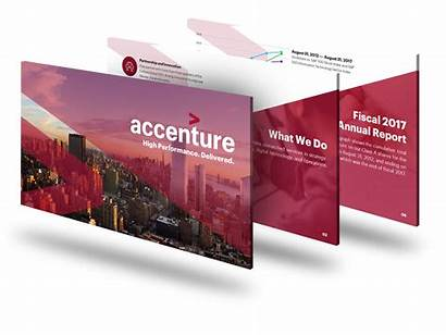 Accenture Deck Slide Powerpoint Presentation Pitch