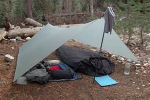 Ultralight Backpacking Tarp Shelters