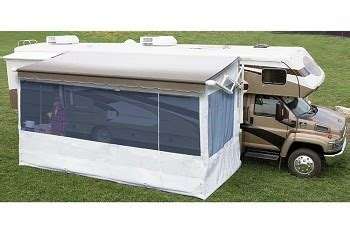 complete rv awning carefree 19 complete flat pitch add a room awning screen