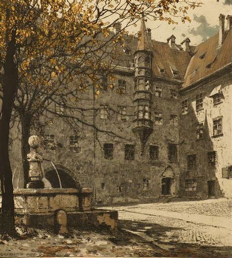 Am Alten Hof by Grafiken Antiquit 228 Ten Am Alten Hof