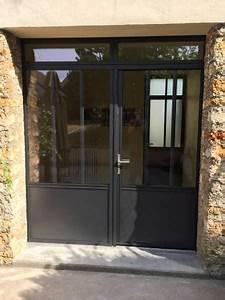 Fenetre Alu Noir : porte et fenetre noir porte fenetre lapeyre dthomas ~ Edinachiropracticcenter.com Idées de Décoration