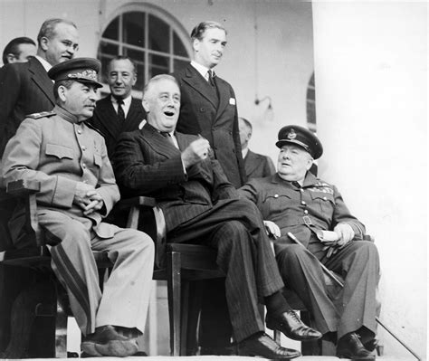 Whose Chair Is That by The Big Three At The Tehran Conference 1943