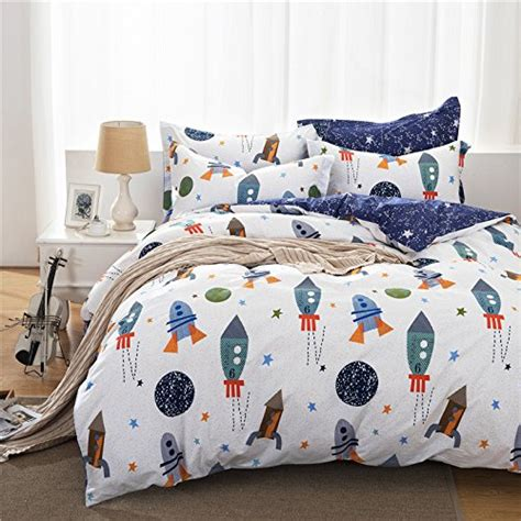 brandream boys galaxy space bedding set kids bedding set