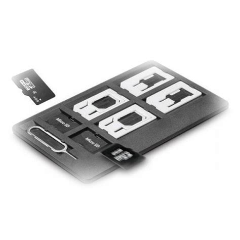 sim pin iphone sim card storage holder with 6 adapters 1 iphone eject pin