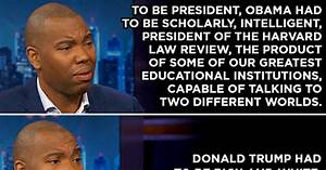 Coates' Daily Show Meme Shows Presidential Differences