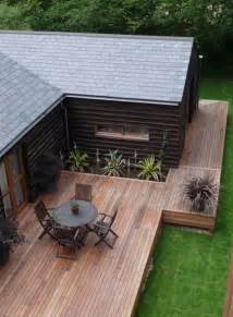 Modern Wood Deck Designs Ideas