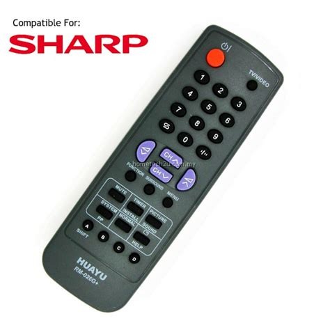 8 seater table size ctv crt tv remote for sharp replacement rm 026g