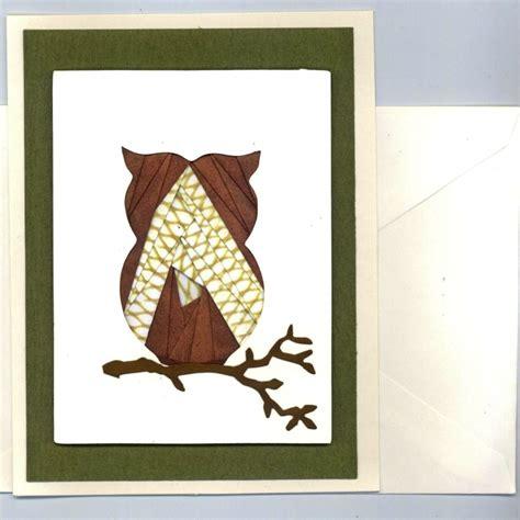 owl iris folding kit createncraft