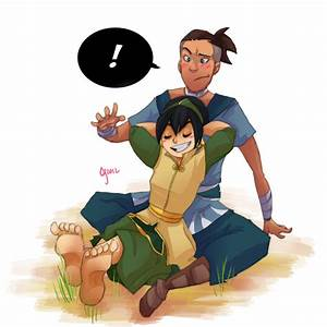 Toph and Sokka- Commission by Ceshira on DeviantArt