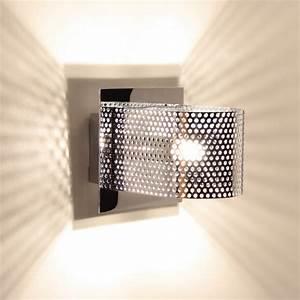 Applique Murale Moderne : applique murale moderne en m tal avec un diffuseur perfor et bomb ~ Teatrodelosmanantiales.com Idées de Décoration