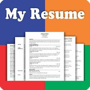 Resume builder free 5 minute cv maker templates for Best resume builder app