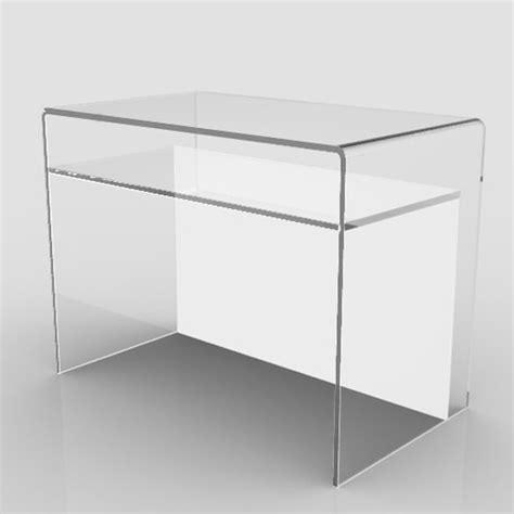 scrivania plexiglass scrittoio scrivania design plexiglass vetro acrilico