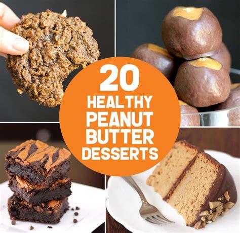 20 Healthy Peanut Butter Dessert Recipes Gluten Free