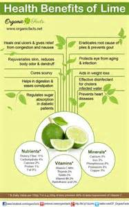 Lime Health Benefits