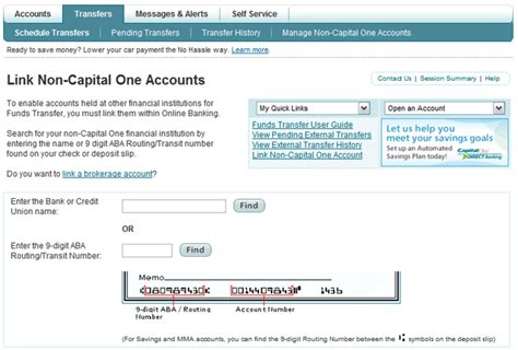 capital  bank routing number