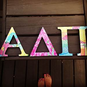 308 best alpha delta pi images on pinterest sorority With alpha delta pi wooden letters