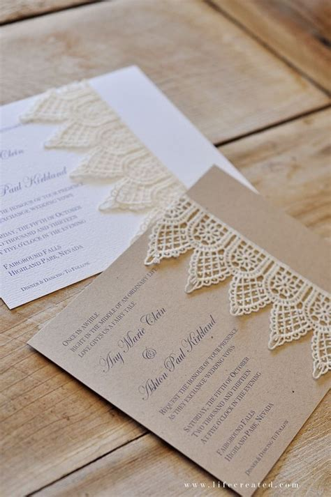 handmade wedding invitations on pinterest pocket wedding