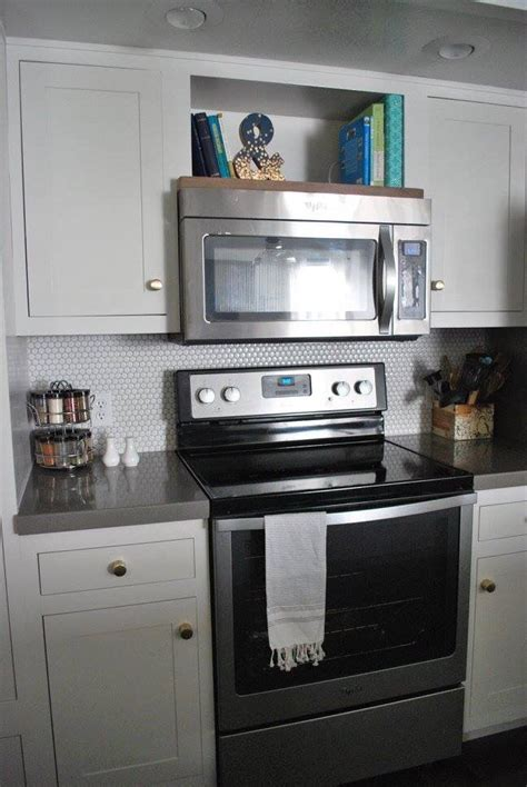 kitchen cabinets microwave shelf open shelf above the microwave for cook books kitchen 6225