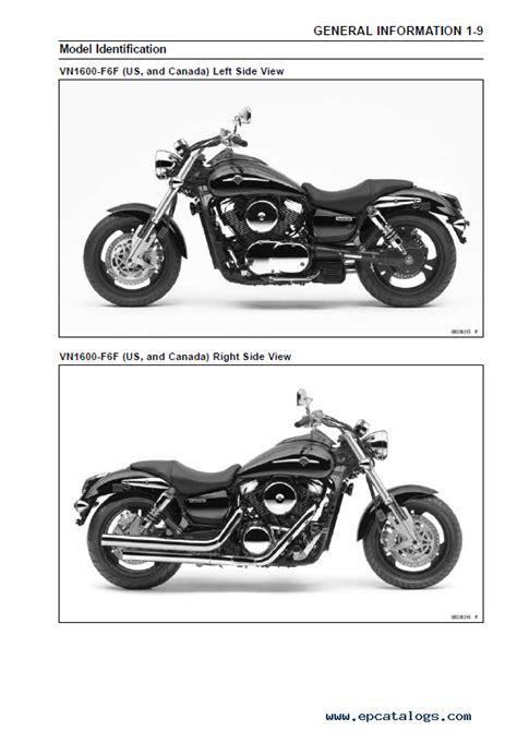 Kawasaki Motorcycle Service by Kawasaki Vulcan 1600 Vn 1600 Motorcycle Service Manual Pdf
