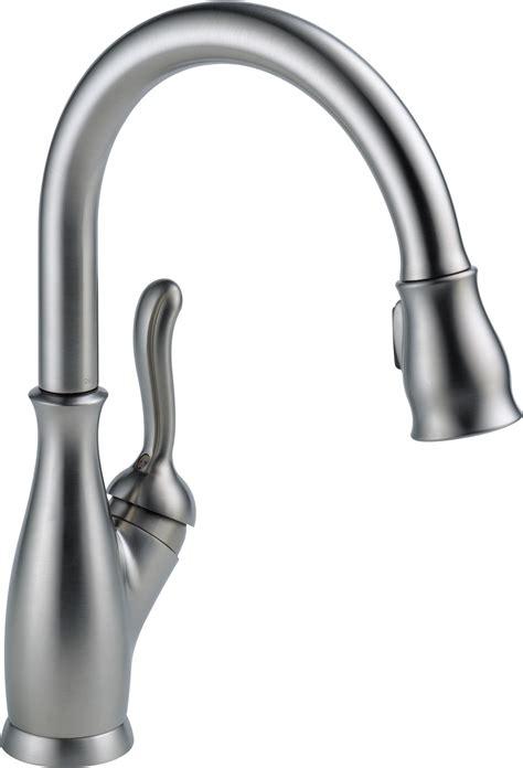 Delta Faucet 9178rbdst Leland Single Handle Pulldown