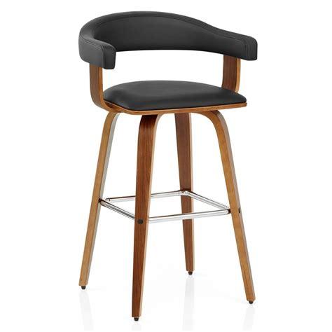 chaise bar bois tabouret de bar bois simili cuir ontario monde du tabouret
