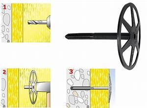 Fixation Pour Isolant : fixation laine de verre laine de bois dhk fischer ~ Edinachiropracticcenter.com Idées de Décoration