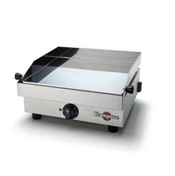 cuisiner à la plancha electrique plancha electrique inox 34x34 1600w saveur krampouz la