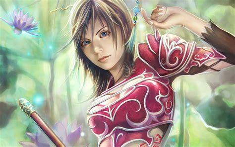 Gorgeous Anime Wallpaper - gorgeous warrior anime cg artwork