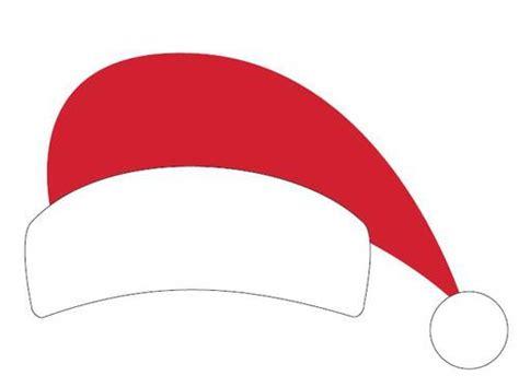 santa hat printable christmas photo booth prop label