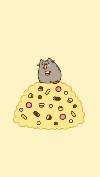 pastel pusheen tumblr
