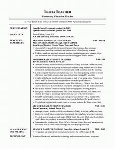 Sample resumes teacher resume for Best teacher resume