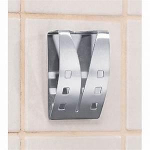 Handtuchhalter Küche Edelstahl : handtuchhalter aus edelstahl 2er set f r k che bad ~ Markanthonyermac.com Haus und Dekorationen
