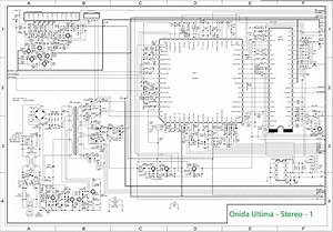 Electro Help  Onida Ultima Chassis Crt Tv Circuit Diagram