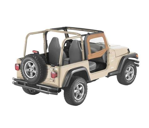 jeep wrangler factory half doors jeep tj fabric half doors factory soft all soft tops