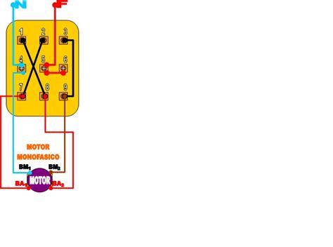 llave inversora para motor monofasico yoreparo