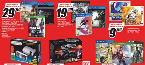 Console Wii Mediaworld by Volantino Mediaworld Offerte Fino Al 25 Settembre Ps4 Vr