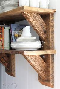 how to build wood shelf supports Quick Woodworking Projects