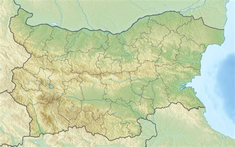 Ģeogrāfiskā karte - Bulgārija - 1,200 x 757 Pikselis - 305 ...